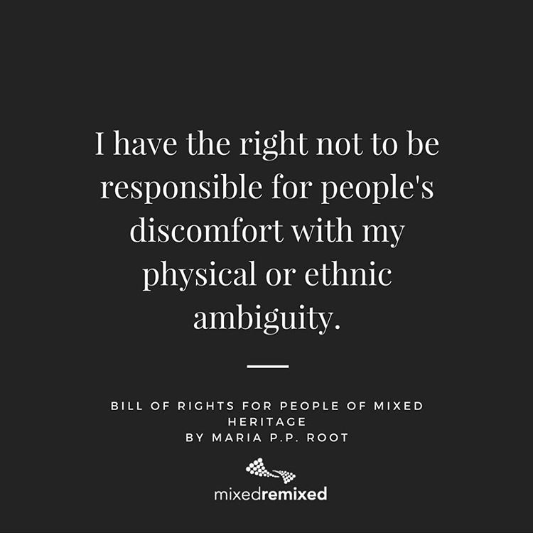 I have the right not to be responsible for peopleshellip