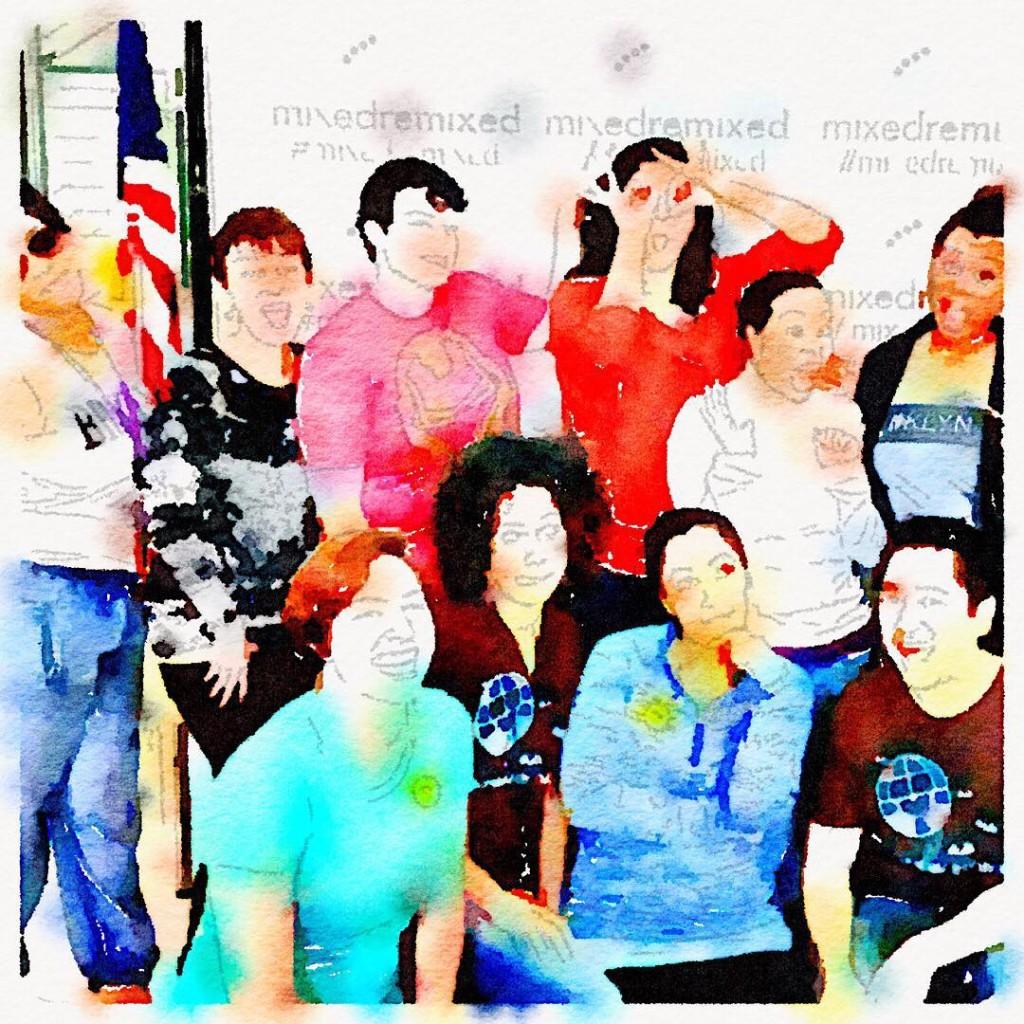 the crew! mixedremixed multiracial mixedrace