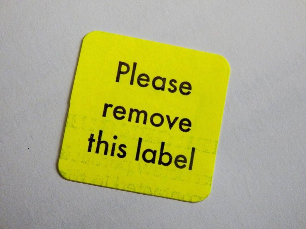 I reject the labels people give me I decide whohellip