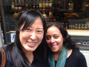 Mash-up American Amy Choi and Festival Founder Heidi Durrow