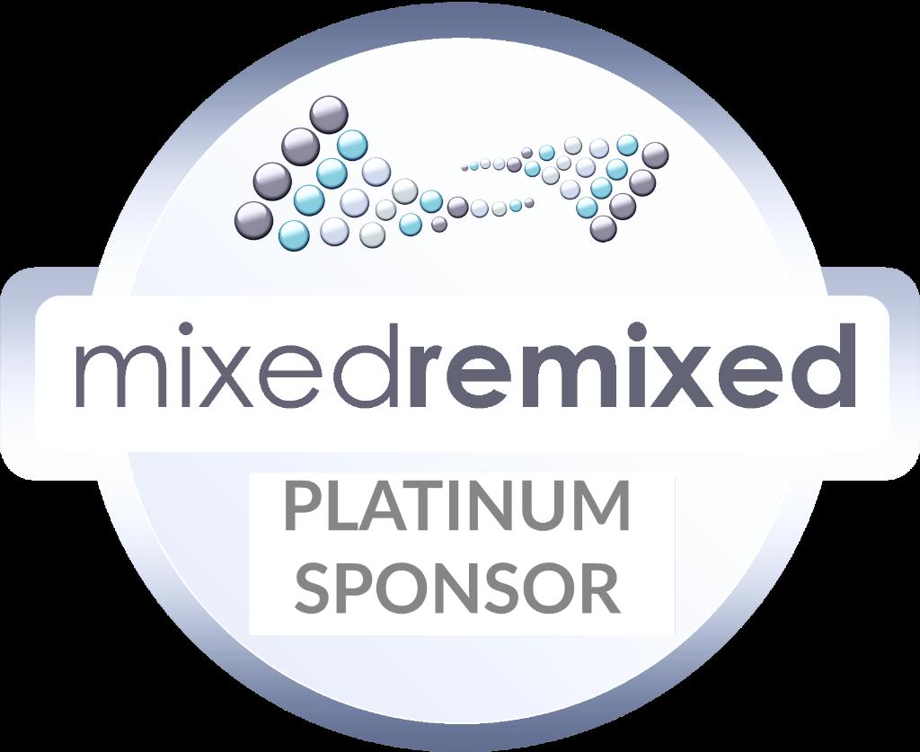 platinum purple MxdRmxd silver sponsor circle