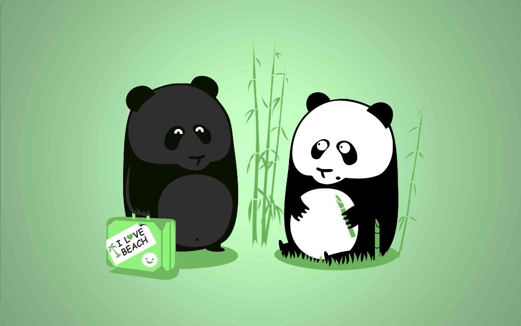 Funny-Panda-Cartoon-Wallpaper-with-Quote