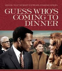"""Guess who's coming to Dinner"" - first Hollywood interracial kiss?"