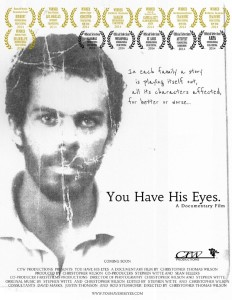 you have his eyes poster