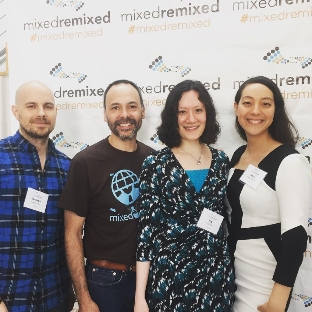 Some of the awesome folks at the festival! mixedremixed hapahellip