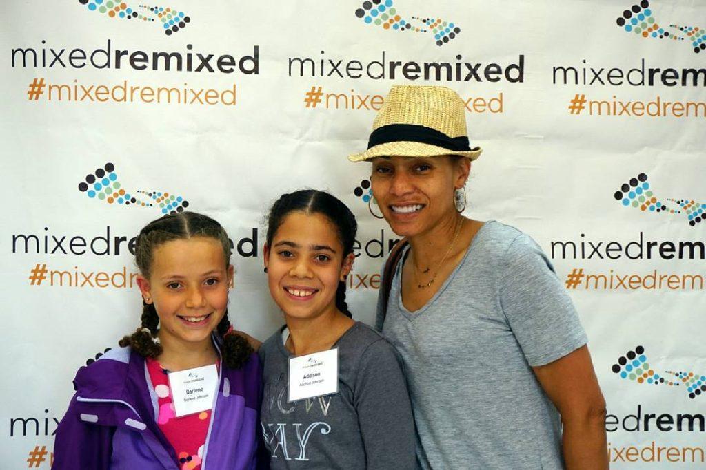 Another beautiful family at the festival! mixedremixed multiracial mixedchicks