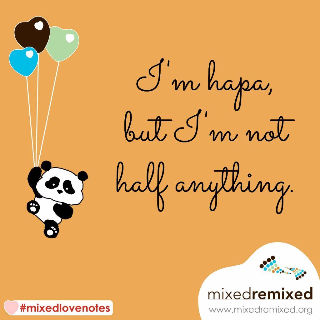 MxdRmxd - Love Notes - 2016 - balloon panda - orange TEXT