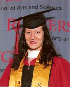 Joy BA graduation