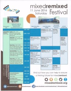 mixed remixed festival saturday schedule