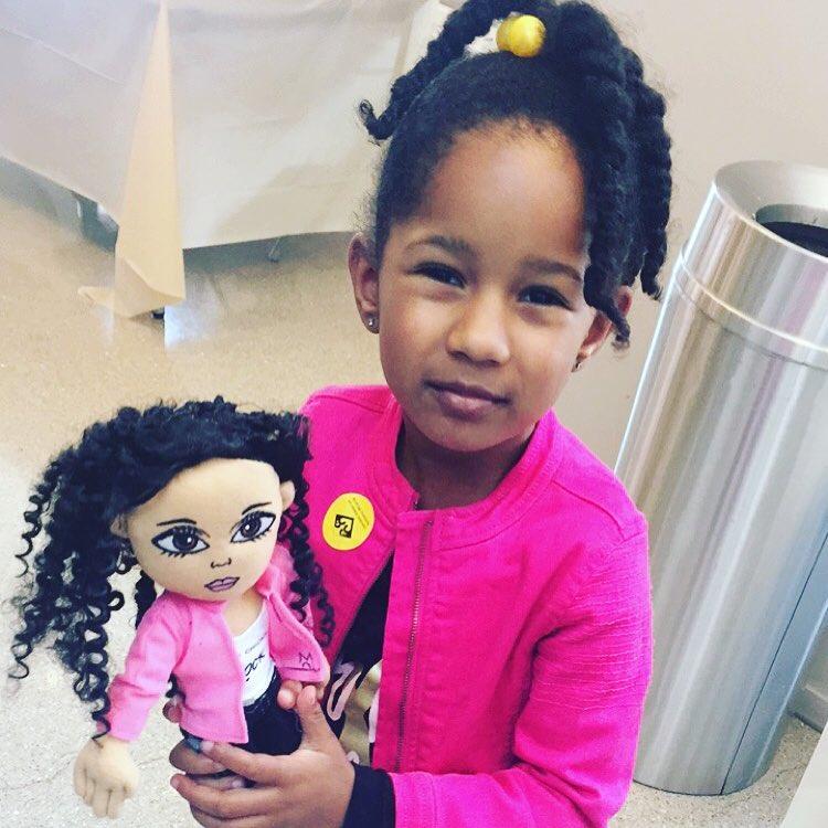 More cuteness with mixedchickshair doll! mixedremixed multiracial mixedchicks