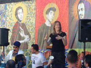 Memorial - with singer and ASL interpreter