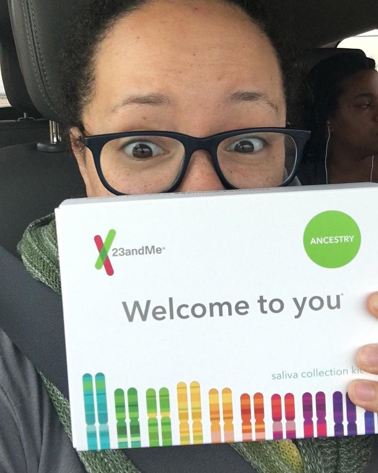 Whats your DNA story? Some of us at Mixed Remixedhellip