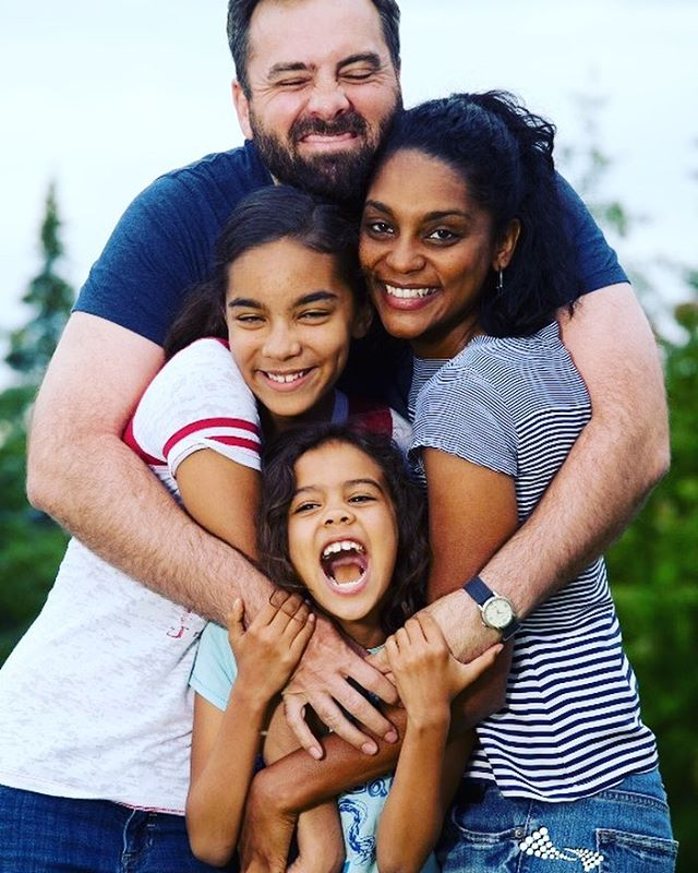 Meet one of the wonderful mixedrace multiracial interracial families registeredhellip