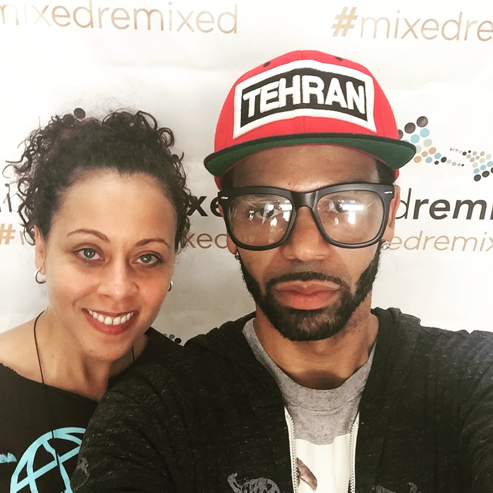 Tehran and Heidi Durrow Mixed Remixed Festival 2016